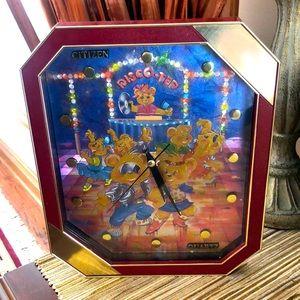 Wall clock for girl room, quartz
